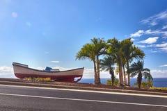 Bella barca in Tenerife Fotografia Stock Libera da Diritti