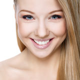 Bella bionda sorridente Immagine Stock Libera da Diritti