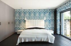 Bella camera da letto Immagine Stock