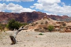 Bella campagna del Sudamerica in Bolivia Immagini Stock