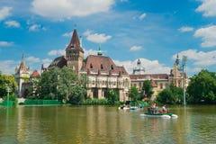 Bella capitale di Budapest in Ungheria immagini stock libere da diritti