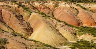 bella caratteristica geologica del parco di conservazione della baia di Hallet, Australia Meridionale Fotografia Stock Libera da Diritti
