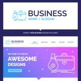 Bella cartella di marca commerciale di concetto di affari, affare, caso royalty illustrazione gratis