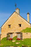 Bella casa in Borgogna, Francia Fotografia Stock Libera da Diritti
