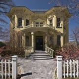 Bella casa del Victorian Fotografia Stock