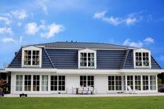 Bella casa della famiglia Fotografia Stock
