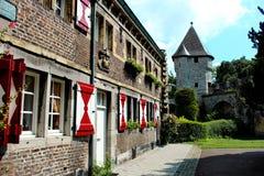 Bella casa 1 di Maastricht Fotografia Stock Libera da Diritti