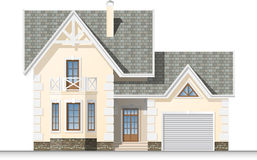 Bella casa di sogno illustrazione di stock