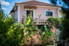 Bella casa greca Immagine Stock Libera da Diritti