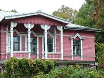 Bella casa, Lettonia Fotografie Stock Libere da Diritti