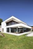 Bella casa moderna Fotografia Stock