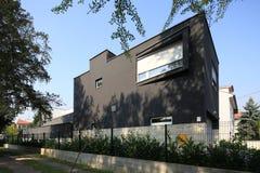 Bella casa moderna Immagine Stock Libera da Diritti