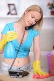 bella casalinga fotografia stock