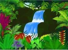 Bella cascata Fotografia Stock Libera da Diritti