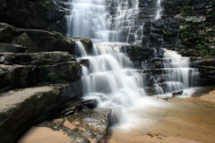 Bella cascata Fotografia Stock