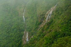 Bella cascata del cuore Fotografia Stock