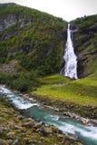 Bella cascata del nord Immagini Stock