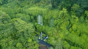 Bella cascata di Benang Kelambu Fotografia Stock Libera da Diritti