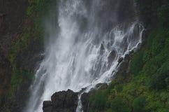 Bella cascata di Thoseghar al villaggio indiano Satara-II Fotografia Stock
