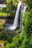Bella cascata nella sosta nazionale Fotografie Stock