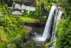 Bella cascata nella sosta nazionale Fotografia Stock
