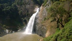 Bella cascata nello Sri Lanka Fotografia Stock Libera da Diritti