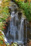 Bella cascata procedente in sequenza Immagini Stock Libere da Diritti