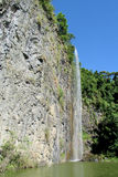 Bella cascata stretta Fotografia Stock