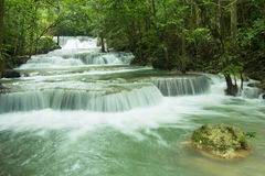 Bella cascata in Tailandia Fotografie Stock