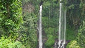 Bella cascata tropicale Bali, Indonesia Immagine Stock Libera da Diritti