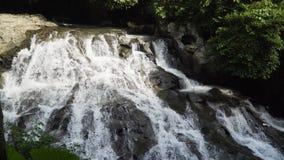 Bella cascata tropicale Bali, Indonesia Fotografia Stock