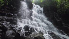 Bella cascata tropicale Bali, Indonesia immagini stock libere da diritti