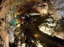 Bella caverna da scoprire Immagine Stock Libera da Diritti