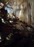 Bella caverna da scoprire Fotografia Stock