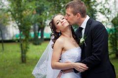 bella cerimonia nuziale delle coppie Immagini Stock