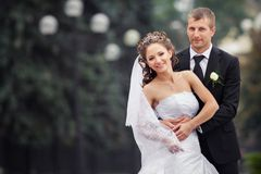 bella cerimonia nuziale delle coppie Fotografie Stock Libere da Diritti