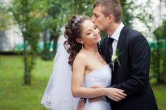 bella cerimonia nuziale delle coppie Fotografia Stock Libera da Diritti