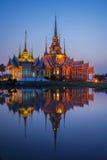 Bella chiesa buddista Immagine Stock
