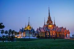 Bella chiesa buddista Fotografia Stock