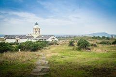 Bella chiesa cattolica a Seopjikoji Immagine Stock Libera da Diritti