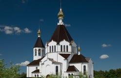 Bella chiesa cristiana Fotografia Stock Libera da Diritti