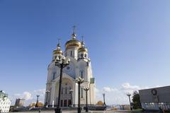 Bella chiesa ortodossa fotografie stock