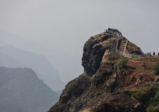 Bella cima della collina Immagine Stock Libera da Diritti