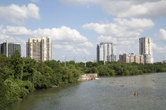 Bella città Austin immagini stock libere da diritti