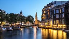 Bella città di Amsterdam fotografia stock libera da diritti