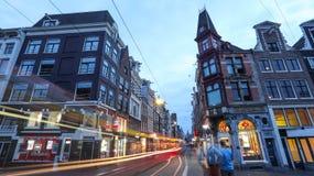 Bella città di Amsterdam fotografie stock libere da diritti