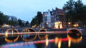 Bella città di Amsterdam immagini stock libere da diritti