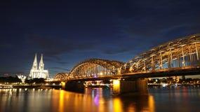 Bella città di Colonia fotografia stock