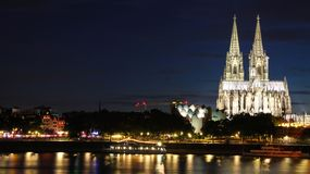 Bella città di Colonia immagini stock libere da diritti