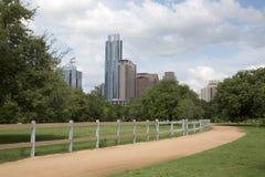 Bella città moderna Austin fotografie stock